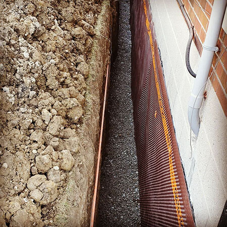 external-basement-waterproofing-trench-brampton